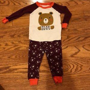 Newborn Baby Pajamas Sleepwear 9M Wonder Nation